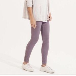 Lou Grey Brushed up zip leggings